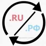 ru или рф для интернет-магазина