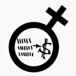 символ женского начала с долларом