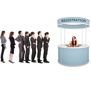 очередь на регистрацию